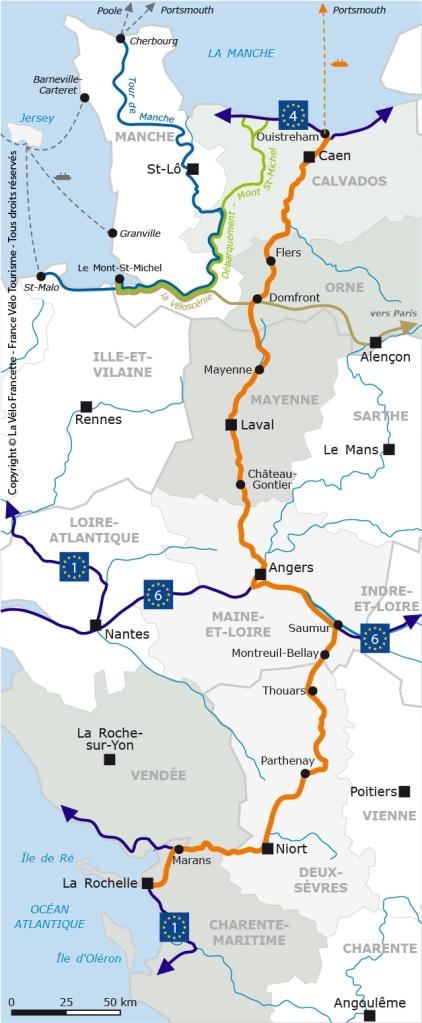 FVT - Grand itinéraire V43 - Vélofrancette